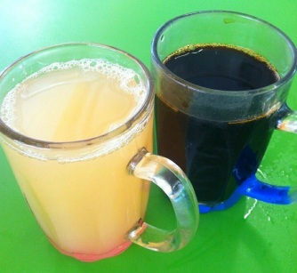 Singapore Foodsters Hawker Centre Food tasting Sampling Tours Coffee and Ginger Tea