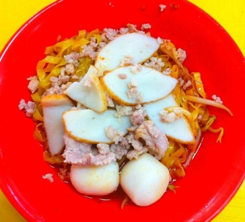 Singapore Hawker Center Food Tasting & Sampling Neighbourhood Walking Tours - Fish Ball Noodles
