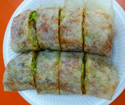 Singapore Foodsters Hawker Centre Food Tasting Sampling Neighbourhood Walking Tour Popiah