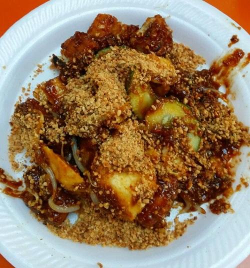 Singapore Foodsters Hawker Centre Food Tasting Sampling and Neighbourhood Walking Tour Rojak