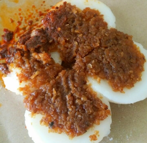 Singapore Hawker Center Food Tasting & Sampling Neighbourhood Walking Tours - Chwee Kuey